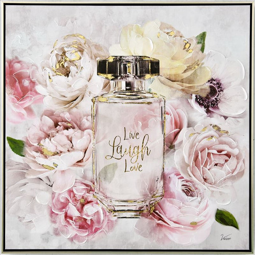 Angel Perfume Bottle Canvas
