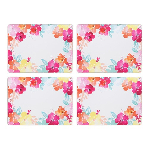 Summer Bloom Placemats / Set 4