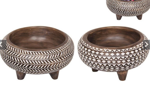 Tribal Decor Bowl 15cm