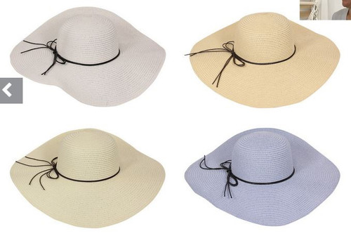 Round Brim Fashion Hat