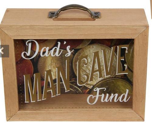 Dad's Man Cave Money Box