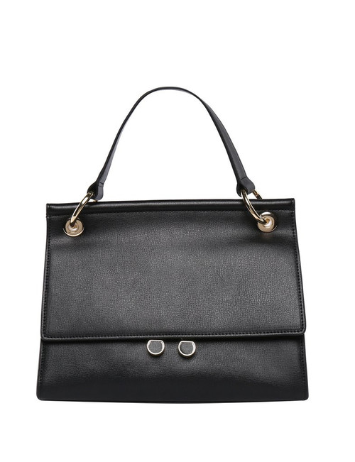 Alana Smooth Leather Handbag / Black
