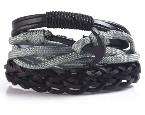 Anchor Multi-Strand Bracelet