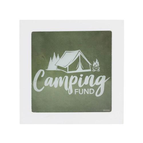 Camping Fund Mini Money Box