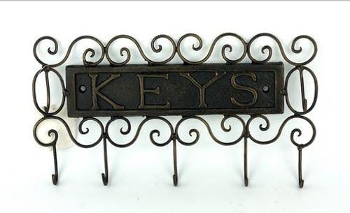 Bronze Ornamental Key Holder