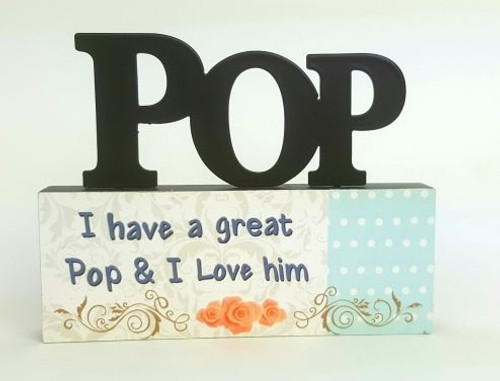 Pop Table Top Sign