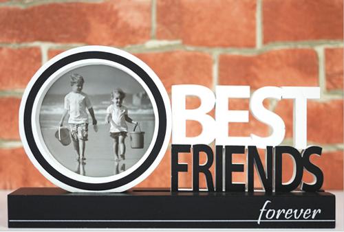 Best Friends Cutout Frame