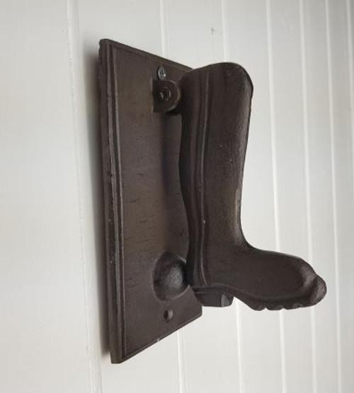Iron Boot Door Knocker