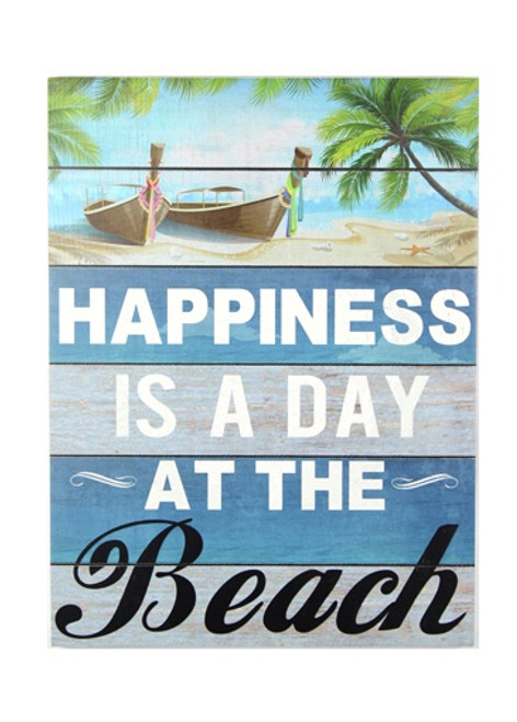 Day At The Beach Wall Sign