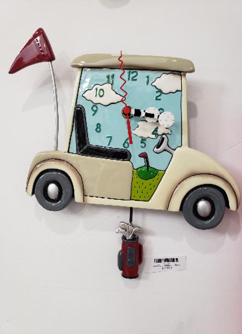 Golf Cart Pendulum Clock