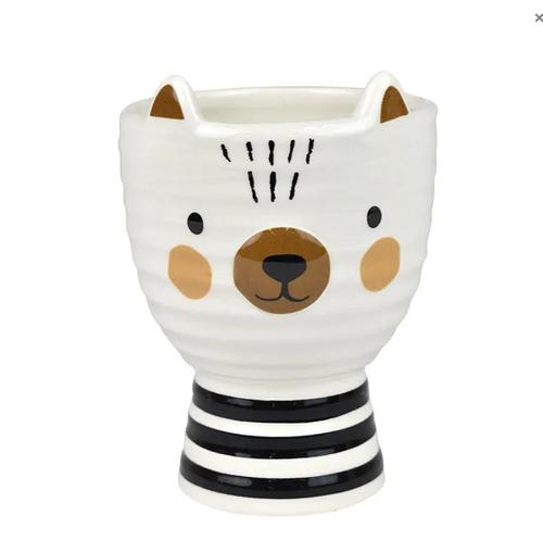 Blake Bear Ceramic Planter
