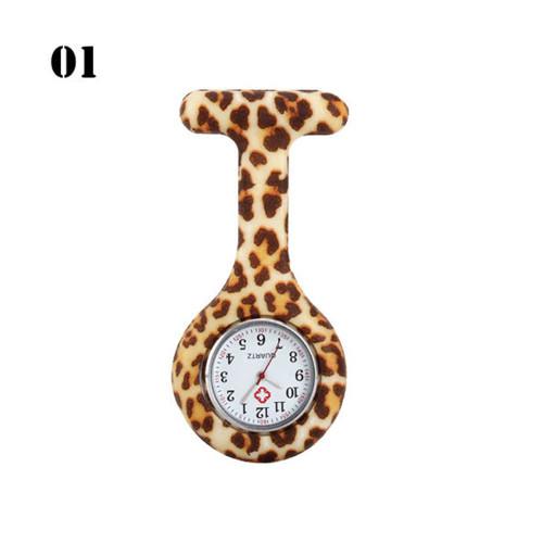 Cheetah Print Nurse Watch