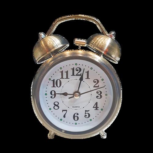 Vintage Alarm Clock Gold