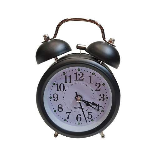 Vintage Alarm Clock Black