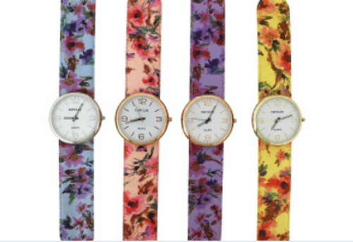 Floral Slap Watch