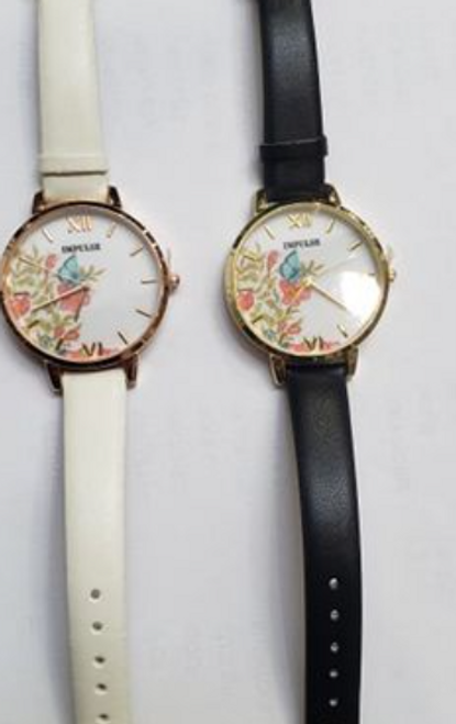 Flower Face Ladies Watch