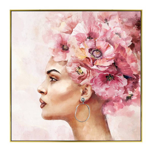 Bridgette Canvas Print 80x80cm