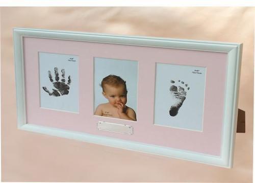 Baby Handprints Photo Frame
