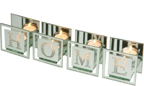 Home Glass Tealight Candle Holder