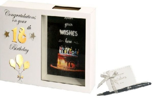 18th Birthday LED Wish Box