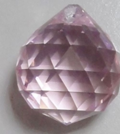 Pink Crystal Ball 3cm