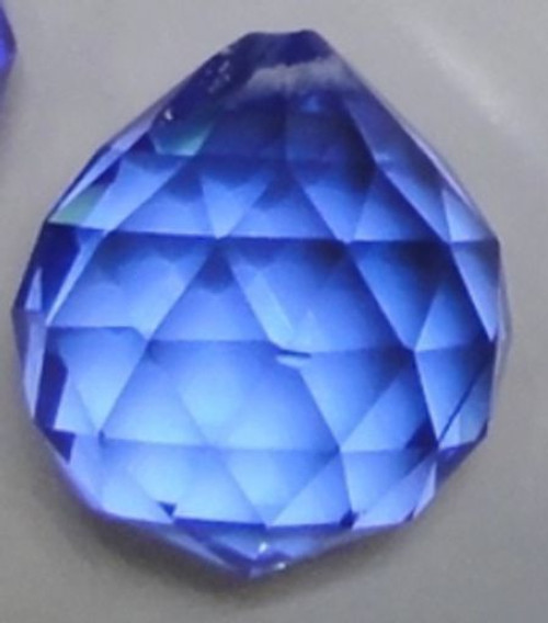 Blue Crystal Ball 3cm