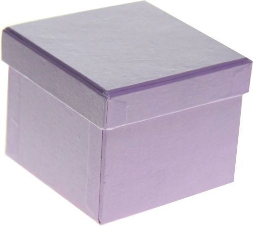 Purple Paper Gift Box