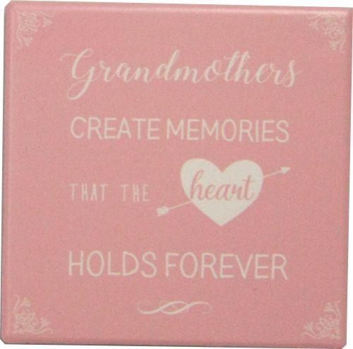 Ceramic Grandmother Coasters