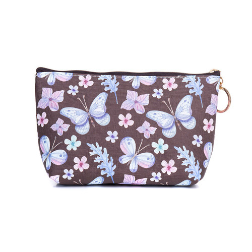 Purple Butterflies Toiletries Bag