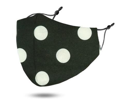 Polka Dot Reusable Face Mask