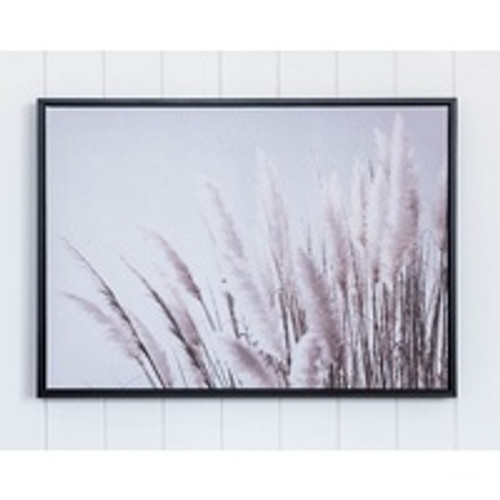 Seagrass Framed Canvas 70x50cm