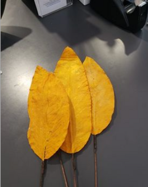 Faux Leaves