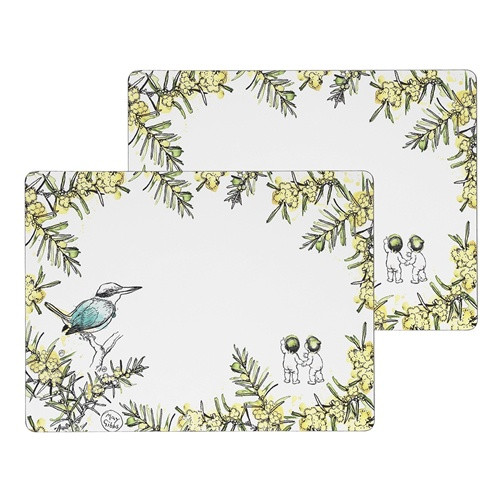 Wattle Large Placemats / Set 2