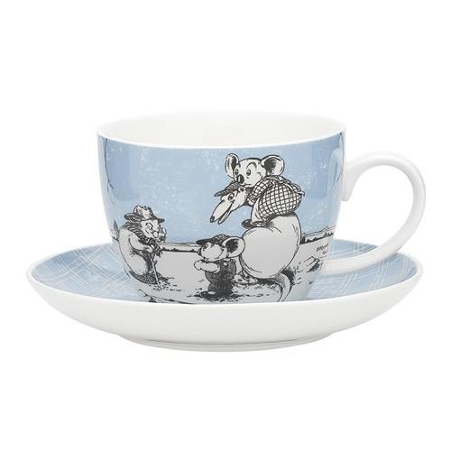 Blinky Bill Jumbo Cup & Saucer Set / Blue