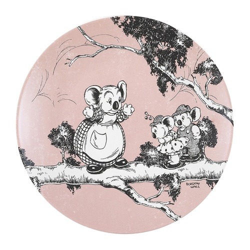 Blinky Bill Side Plate / Coral