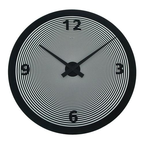 Degree Hypnotic Black Clock 50cm