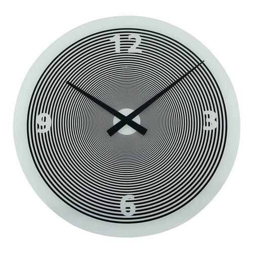Degree Hypnotic White Clock 50cm