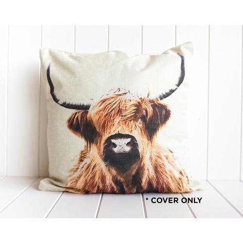Bovine Portrait Indoor Cushion 45cm