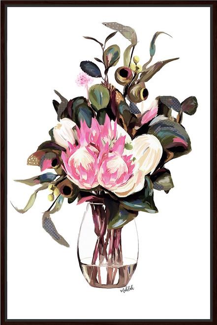 Maisy Vase Framed Canvas 40x60cm