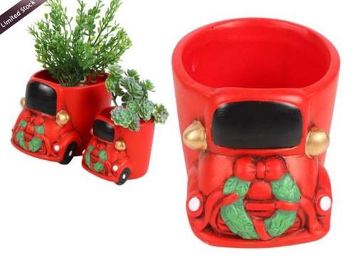Christmas Truck Planter