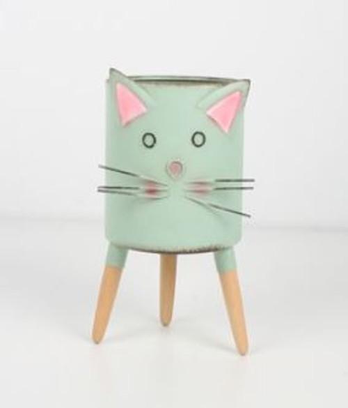 Kitty Metal Planter Stand