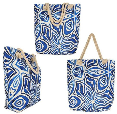 Ocean Tie Dye Beach Bag