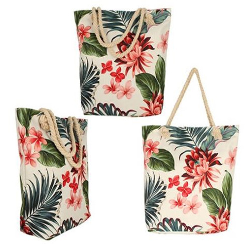 Tropic Petal Beach Bag