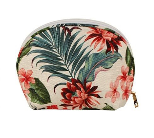 Tropic Petal Cosmetics Bag