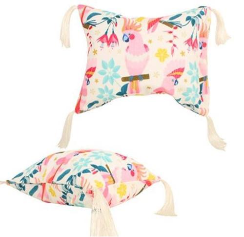 Inflatable Beach Pillow / Rose Cockatoo
