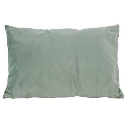 Olive Green Velvet Cushion 50x30cm