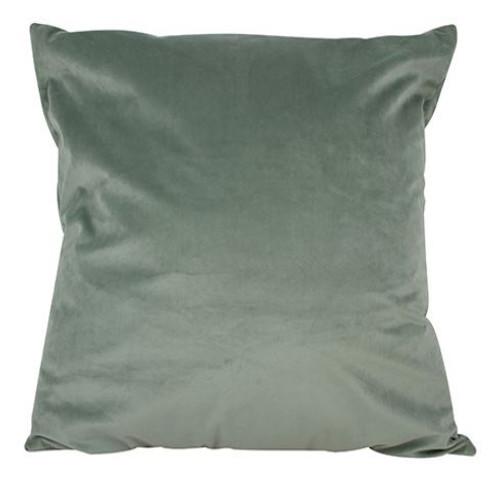Olive Green Velvet Cushion 50x50cm