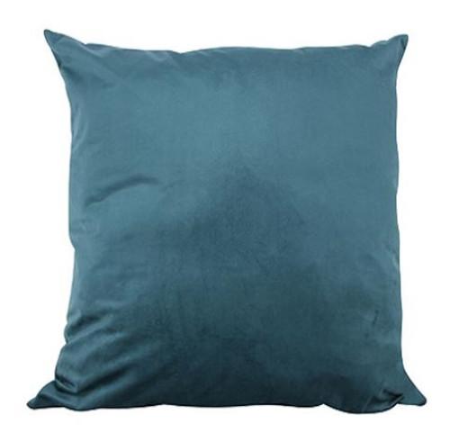 Ocean Blue Velvet Cushion 50x50cm