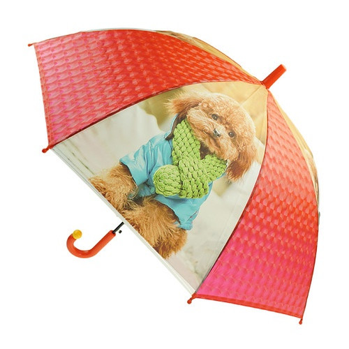 Umbrella - Dog Red