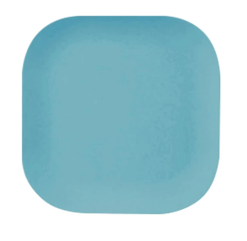 Pale Blue Bamboo Plate 22cm
